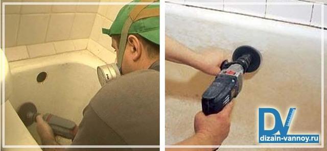 Покраска чугунной ванны: средства и способы восстановления