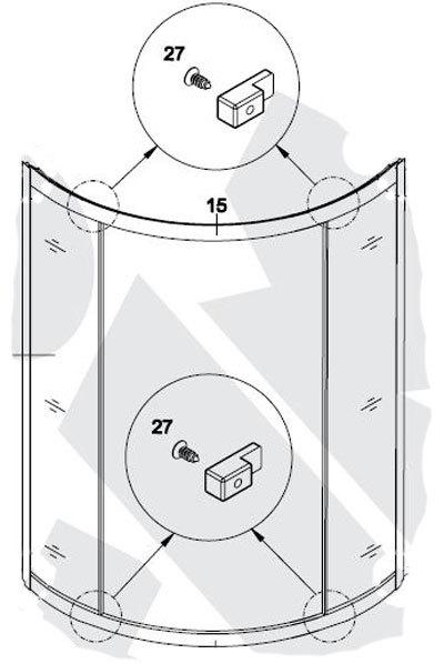 Как выбрать и установить своими руками стекло для душевой кабины