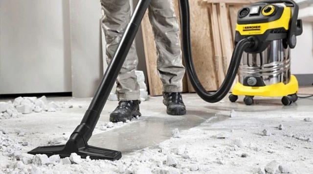 Лучшие строительные пылесосы Керхер: ТОП-10 моделей + на что смотреть перед покупкой