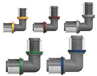 Пресс-фитинги для металлопластиковых труб: виды, маркировка, особенности монтажа