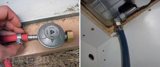 Установка газового духового шкафа: правила монтажа газовой духовки