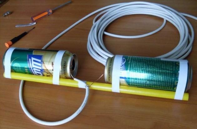ТВ антенна своими руками: как сделать самодельную телеантенну в домашних условиях