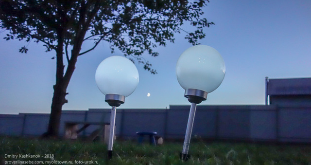 Как выбрать газонные светильники на солнечных батареях