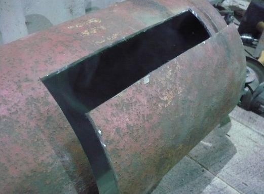 Тепловая пушка на отработанном масле своими руками