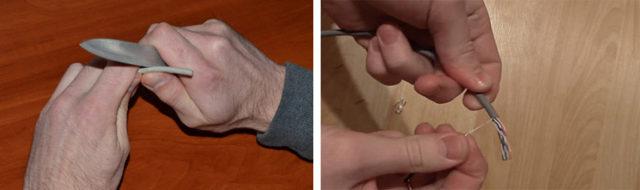 Обжим витой пары 8 и 4 жилы: схемы обжимки + пошаговая инструкция