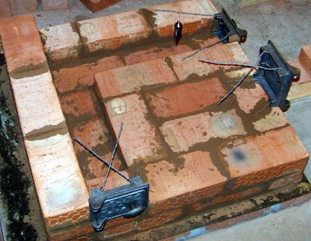Как правильно сложить печь с плитой: пошаговый инструктаж + разбор нюансов
