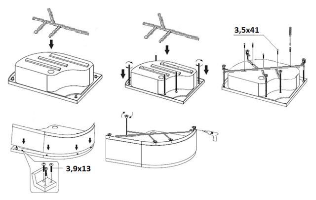 Установка поддона душевой кабины: пошаговый инструктаж