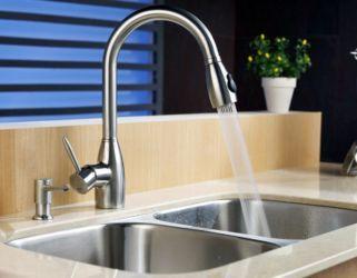 Как установить смеситель на кухне: варианты монтажа прибора