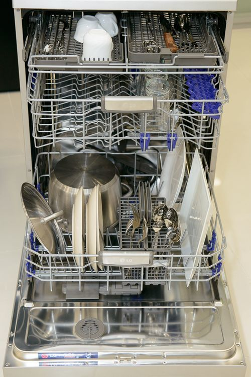 Цикл мойки посудомоечной машины: сколько времени длятся программы