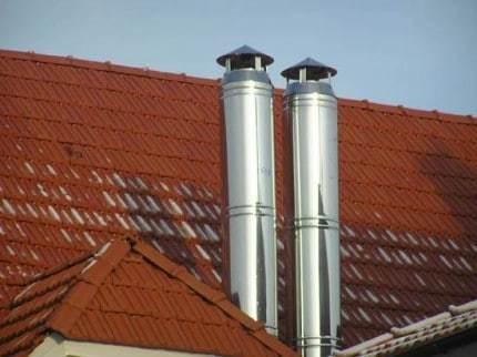 Что делать если замерзает дымоход газовой колонки: способы защиты дымовой трубы от обмерзания