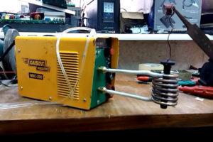 Индукционный нагреватель своими руками из сварочного инвертора