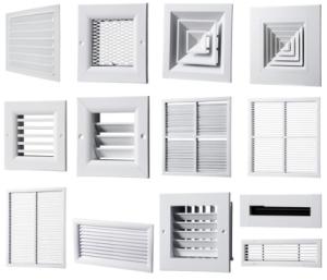 Вентиляционные решетки: виды, сравнительный обзор + рекомендации по выбору